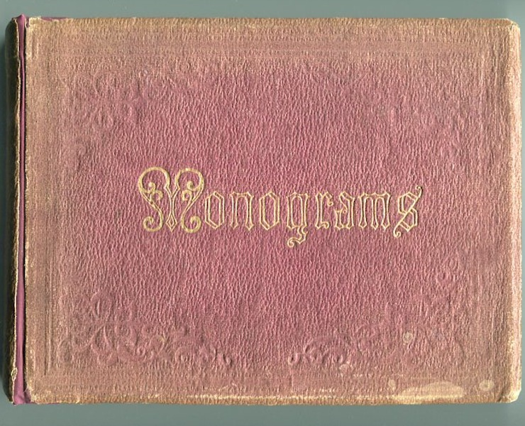 The Monogram Album Of Minnie B. Roosevelt. Roosevelt Family Item.