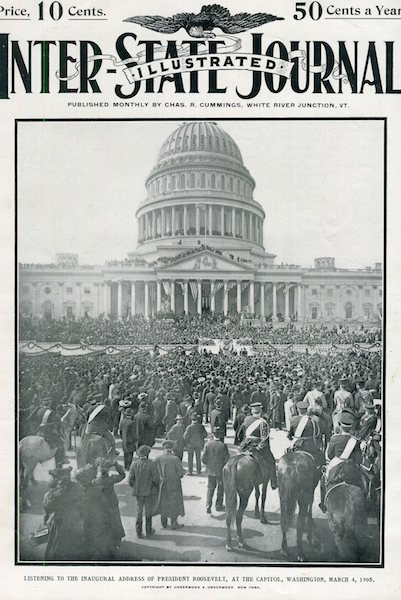 Inter-State Journal Illustrated (Inauguration). Theodore Roosevelt.