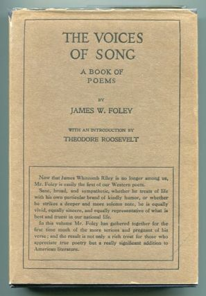 The Voices of Song, A Book of Poems. James Foley