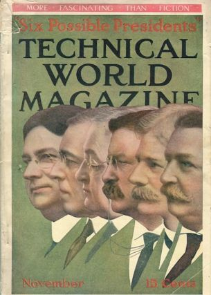 Six Possible Presidents. Technical World Magazine, November, 1912. Henry M. Hyde