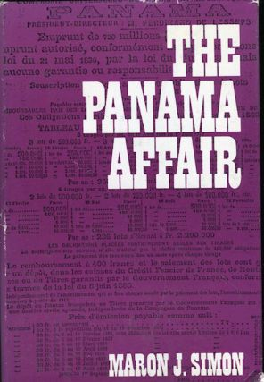 The Panama Affair. Maron J. Simon