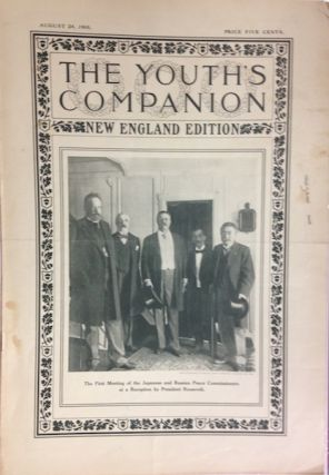 The Youth's Companion; Front cover illustration shows First Meeting of the Japanese & Russian...